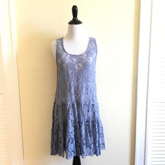 NWT Free People Emily lace slip dress